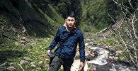 Фотокорреспондент информационного агентства и радио Sputnik Кыргызстан Табылды Кадырбеков. Архивное фото