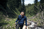 Фотокорреспондент информационного агентства и радио Sputnik Кыргызстан Табылды Кадырбеков