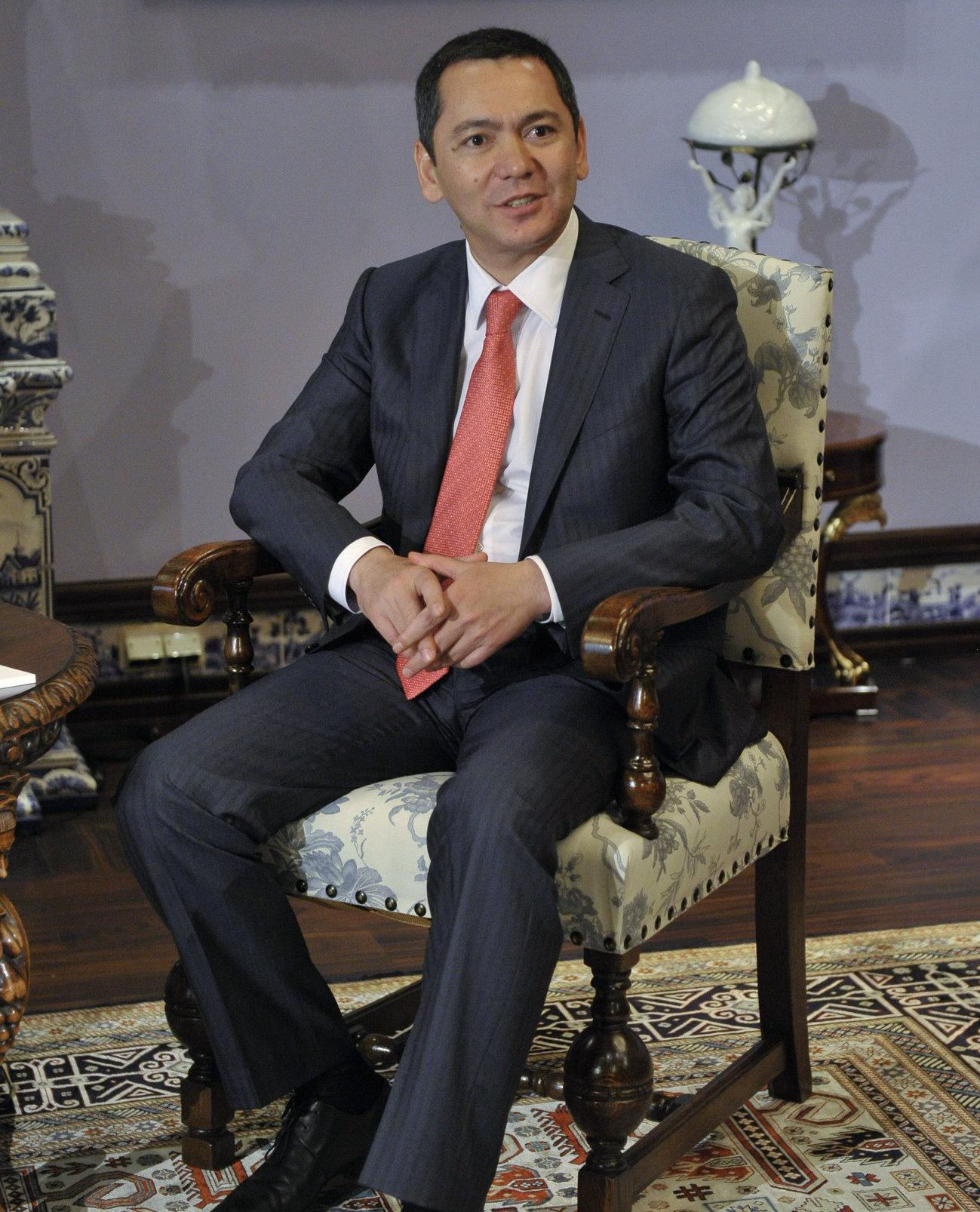 Премьер-министр Киргизской Республики Омурбек Бабанов