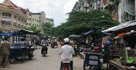 Пномпень шаары, Камбоджа. Архив