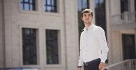 Студент, который учится в США, будущий программист Абдуллах Караман. Архивное фото