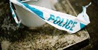 Оградительная полицейская лента