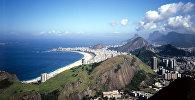 Город Рио-де-Жанейро. Федеративная Республика Бразилия. Архивное фото