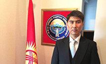 Кыргызстандын Япониядагы элчиси Чыңгыз Айдарбеков. Архив