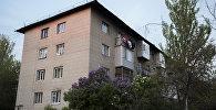 Жилой многоэтажный дом в Бишкеке. Архивное фото