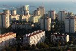 Жилые дома в Стамбуле, Турция. Архивное фото