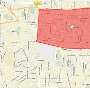 Карта центра Бишкека, где депутаты предлагают снести ветхие дома