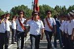 Выпусники на курсантов Академии МВД. Архивное фото