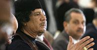 Ливиянын мурдагы Лидери Муамар Каддафи. Архив