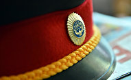 Фуражка сотрудника милиции. Архивное фото