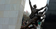 Монумент памяти погибших за свободу народа во время Аксыйских событий 2002 года и Апрельских событий 2010 года. Архивное фото