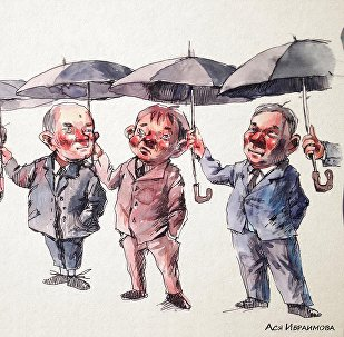 Круговорот зонтов во власти