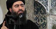 Ислам мамлекети террордук уюмунун башчысы Абу Бакр аль-Багдадинин архивдик сүрөтү