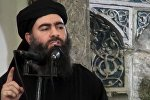 Ислам мамлекети террордук уюмунун башчысы Абу Бакр аль Багдадинин архивдик сүрөтү