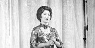 СССР Эл артисти, КР Эл артисти, белгилүү опера ырчысы Кайыргүл Сартбаева. Архив