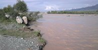 Последствия селевого потока в Ат-Башинском районе Нарынской области