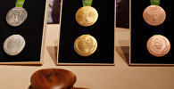 Комплекты медалей Рио. Архивное фото