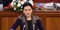 Архивное фото депутата ЖК 6 созыва Аиды Саляновой от партии Ата-Мекен