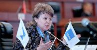 КСДП фракциясынан депутат болуп келген Ирина Карамушкинанын архивдик сүрөтү