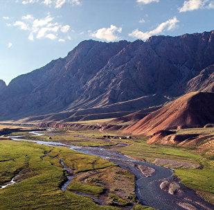 Кыргызстанда жайгашкан Кажырты дарыясы. Архив