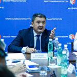 Албек Ибраимов на совещании по развитию инфраструктуры города