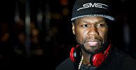 Архивное фото известного рэп-исполнителя 50 Cent