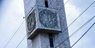 Капитальный ремонт курантов в Бишкеке