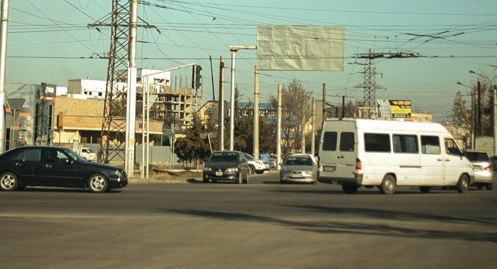 Южная магистраль в городе Бишкек