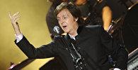 Британский рок-музыкант Пол Маккартни. Архивное фото