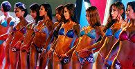 Конкурс бодибилдинга и фитнеса China Fit в Пекине