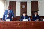 Заседание коллегии полномочного представительства в Таласской области