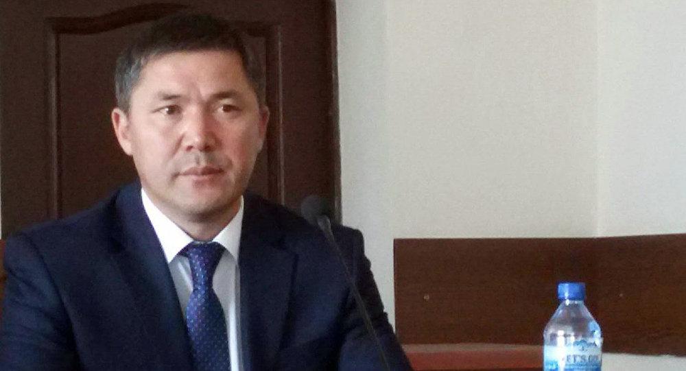 Новый полпред в Таласской области Атакулович Дайырбек Кенекеев