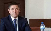 Архивное фото полномочного представителя правительства в Таласской области Даира Кенекеева