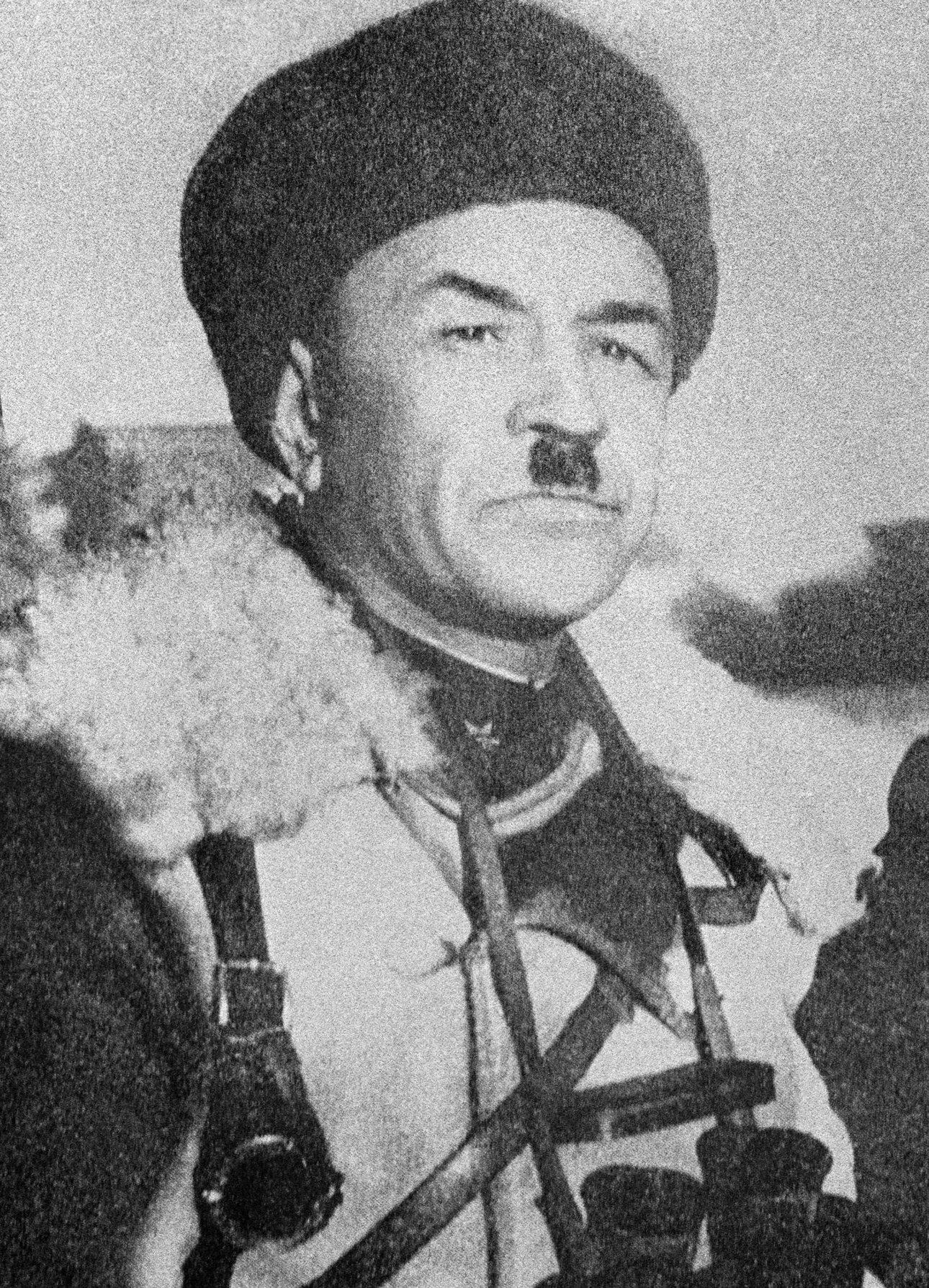 Генерал-майор Иван Васильевич Панфилов. Ноябрь 1941 года