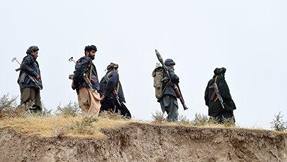Боевики радикального движения Талибан. Архивное фото