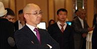 Архивное фото руководителя федерации айкур Максат Чакиев