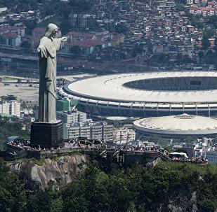 Маракана стадиону, Рио-де-Жанейро, Бразилия. Архив