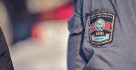 Сотрудник милиции города Бишкек