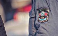 Шеврон сотрудника милиции. Архивное фото
