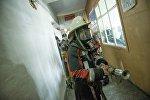 Кыргызстандын ӨКМ кызматкеринин архивдик сүрөтү