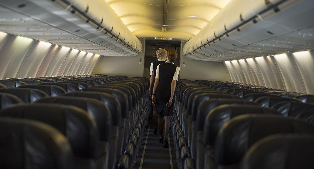 Стюардессы самолета. Архивное фото