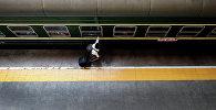 Темир жол платформасы. Архив