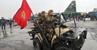 Бойцы армейского спецназа Скорпион во время торжественных мероприятий на базе ОДКБ. Архивное фото