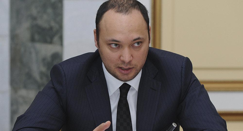 Архивное фото сына беглого президента Курманбека Бакиева — Максима Бакиева