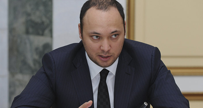 Сын беглого президента Максим Бакиев