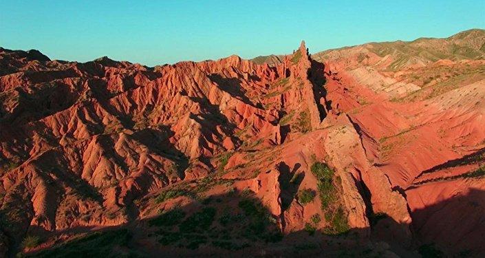 Уникальный Кыргызстан: каньон Сказка