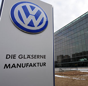 Здание завода Volkswagen. Архивное фото