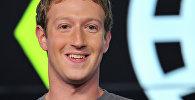 Facebook социалдык тармагынын башкы директору Марк Цукерберг. Архив