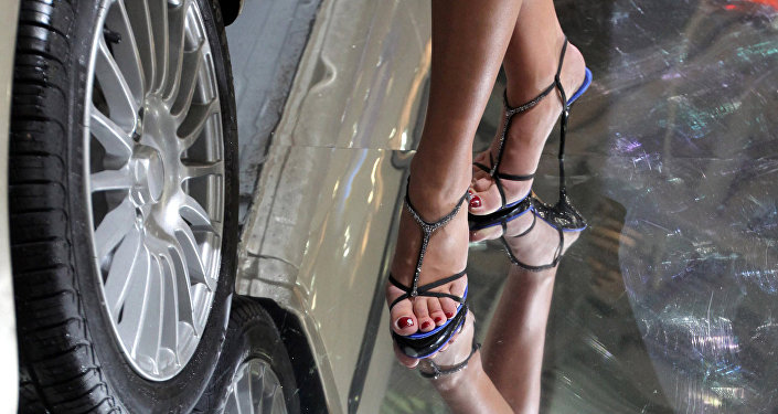 Женские ноги. Архивное фото
