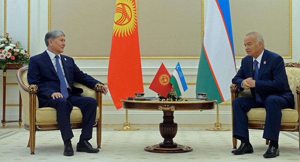 Президенты Киргизии иУзбекистана впервый раз ссентября 2013-ого года провели двусторонние переговоры